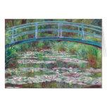 Claude Monet la pasarela japonesa Felicitacion