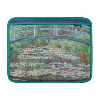 Claude Monet la pasarela japonesa Fundas MacBook