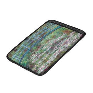 Claude Monet la pasarela japonesa Fundas Macbook Air