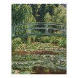 Claude Monet - la pasarela japonesa Membrete A Diseño
