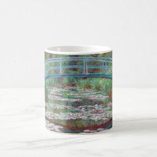 Claude Monet la pasarela japonesa Taza De Café