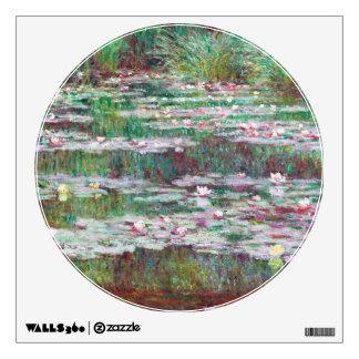Claude Monet la pasarela japonesa Vinilo Adhesivo