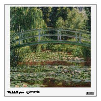Claude Monet - la pasarela japonesa Vinilo Decorativo