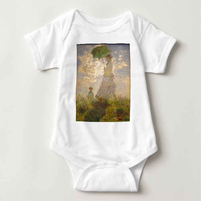 Claude Monet // La Promenade // Umbrella Baby Bodysuit