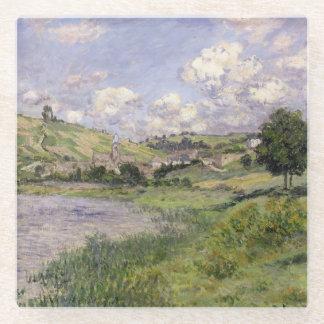 Claude Monet | Landscape, Vetheuil, 1879 Glass Coaster