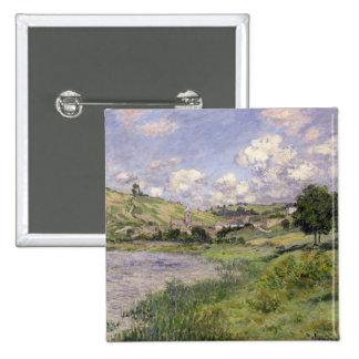 Claude Monet | Landscape, Vetheuil, 1879 Pinback Button