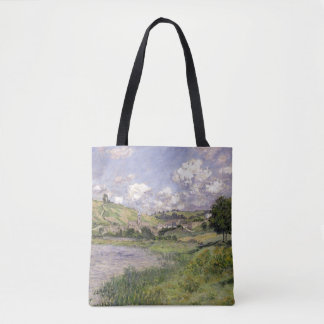 Claude Monet   Landscape, Vetheuil, 1879 Tote Bag