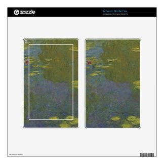 Claude Monet Le Bassin Aux Nymphéas.jpg Kindle Fire Pegatinas Skins