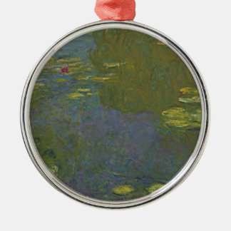 Claude Monet Le Bassin Aux Nymphéas.jpg Metal Ornament