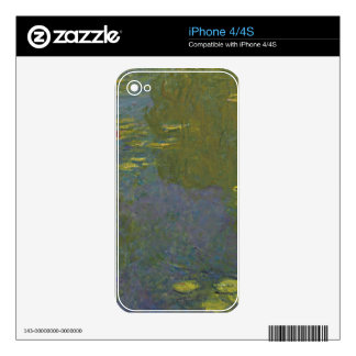 Claude Monet Le Bassin Aux Nymphéas.jpg Skin For The iPhone 4