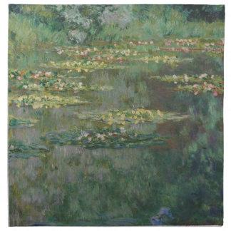 Claude Monet - Le Bassin des Nympheas Servilletas