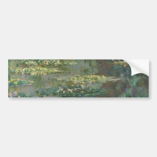 Claude Monet - Le Bassin des Nympheas Pegatina Para Auto
