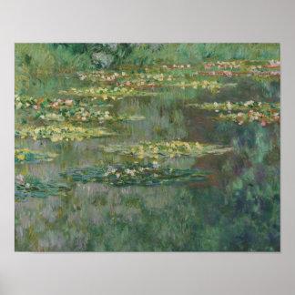 Claude Monet - Le Bassin des Nympheas Poster