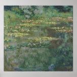 Claude Monet - Le Bassin des Nympheas Póster