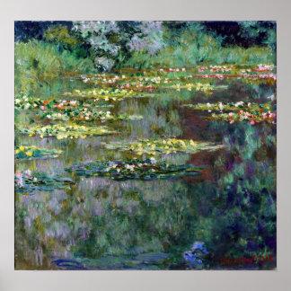 Claude Monet Le Bassin des Nympheas Poster