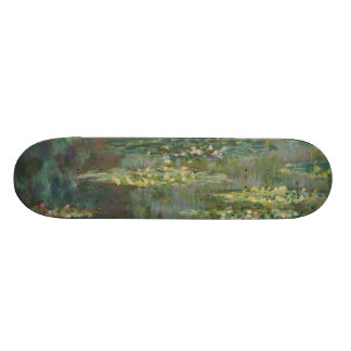 Claude Monet - Le Bassin des Nympheas Skateboard Deck
