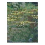 Claude Monet - Le Bassin des Nympheas Tarjeta Postal
