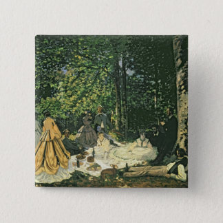 Claude Monet | Le Dejeuner sur l'Herbe, 1865-1866 Button