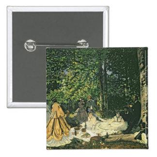 Claude Monet | Le Dejeuner sur l'Herbe, 1865-1866 Button