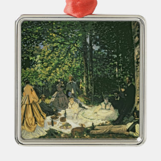 Claude Monet | Le Dejeuner sur l'Herbe, 1865-1866 Metal Ornament