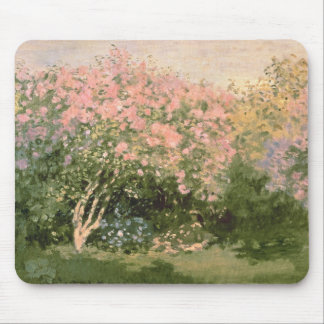 Claude Monet | Lilac in the Sun, 1873 Mouse Pad