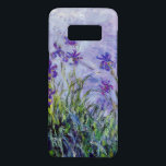 "Claude Monet Lilac Irises Vintage Floral Blue Case-Mate Samsung Galaxy S8 Case<br><div class=""desc"">This painting titled &quot;Lilac Irises&quot; was done between 1914 and 1917 by French impressionist artist Claude Oscar Monet (1840-1926).