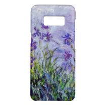 Claude Monet Lilac Irises Vintage Floral Blue Case-Mate Samsung Galaxy S8 Case