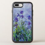 "Claude Monet Lilac Irises Vintage Floral Blue OtterBox Symmetry iPhone 8 Plus/7 Plus Case<br><div class=""desc"">This painting titled &quot;Lilac Irises&quot; was done between 1914 and 1917 by French impressionist artist Claude Oscar Monet (1840-1926).