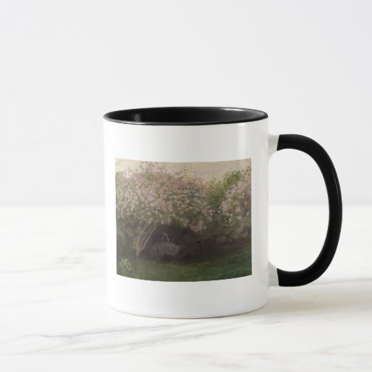 Claude Monet | Lilacs, Grey Weather, 1872 Mug