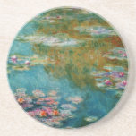 Claude Monet, Lily Pond at Giverny Beverage Coaster