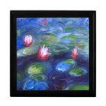 Claude Monet: Lirios de agua 2 Caja De Recuerdo