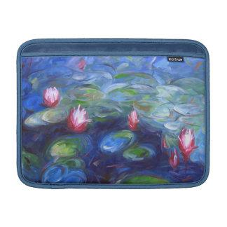 Claude Monet: Lirios de agua 2 Fundas Para Macbook Air