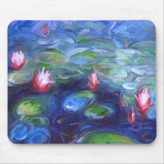 Claude Monet: Lirios de agua 2 Tapetes De Raton