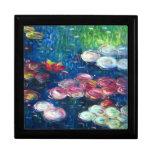 Claude Monet: Lirios de agua 3 Caja De Recuerdo