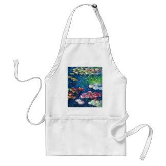Claude Monet: Lirios de agua 3 Delantales