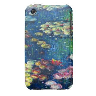 Claude Monet: Lirios de agua 3 iPhone 3 Case-Mate Fundas