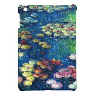 Claude Monet: Lirios de agua 3 iPad Mini Coberturas