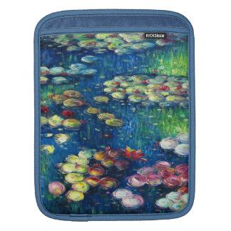 Claude Monet Lirios de agua 3 Funda Para iPads