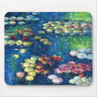 Claude Monet: Lirios de agua 3 Alfombrilla De Ratón