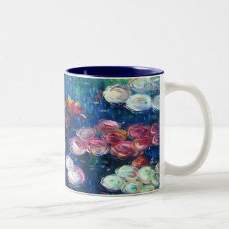 Claude Monet Lirios de agua 3 Taza