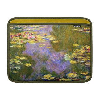 Claude Monet: Lirios de agua Fundas MacBook