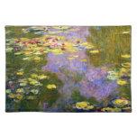 Claude Monet: Lirios de agua Manteles Individuales