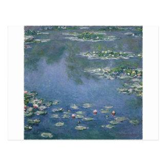 Claude Monet - lirios de agua - Ryerson 1906 Tarjeta Postal