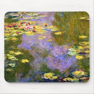 Claude Monet: Lirios de agua Tapete De Ratón