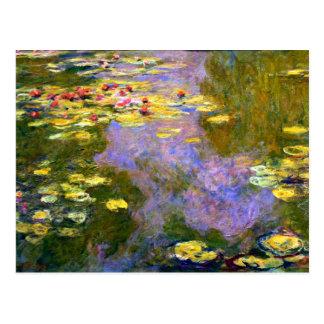 Claude Monet: Lirios de agua Tarjeta Postal
