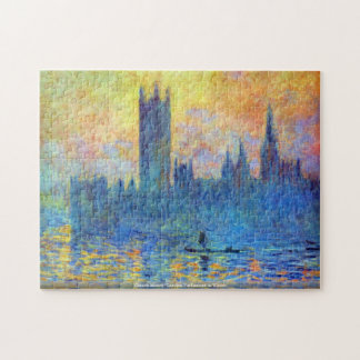 Claude Monet - London Parliament in Winter puzzle