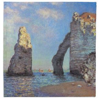 Claude Monet los acantilados en Etretat Servilleta