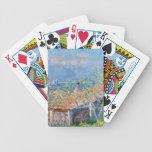 Claude Monet: Los jardineros contienen en Antibes Baraja De Cartas