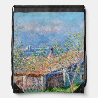 Claude Monet: Los jardineros contienen en Antibes Mochilas