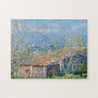 Claude Monet: Los jardineros contienen en Antibes Rompecabeza Con Fotos